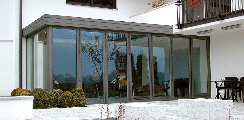 wohnwintergarten aus stahl und glas schubert light line. Black Bedroom Furniture Sets. Home Design Ideas